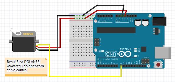 Arduino_Servo_Conrol